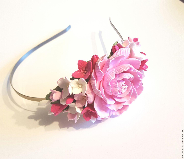 Ободок с цветами купить в магазине «Дом игрушек» 53