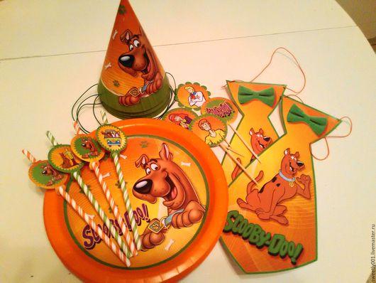 Подарочные наборы ручной работы. Ярмарка Мастеров - ручная работа. Купить Набор для Дня Рождения в стиле Скуби-Ду. Handmade.