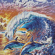 Материалы для творчества handmade. Livemaster - original item Set for embroidery with beads