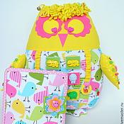 Куклы и игрушки ручной работы. Ярмарка Мастеров - ручная работа Развивающая игрушка сова с книгой. Handmade.