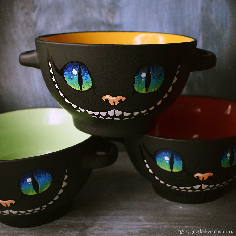 Cheshire Cat's smile bowl, Salad Bowl, Moscow,  Фото №1