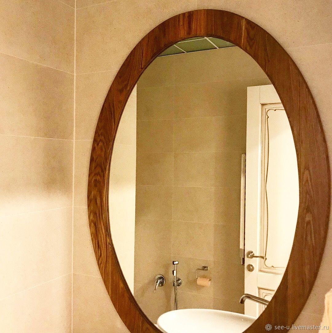 Овальное зеркало в раме, Зеркала, Москва, Фото №1