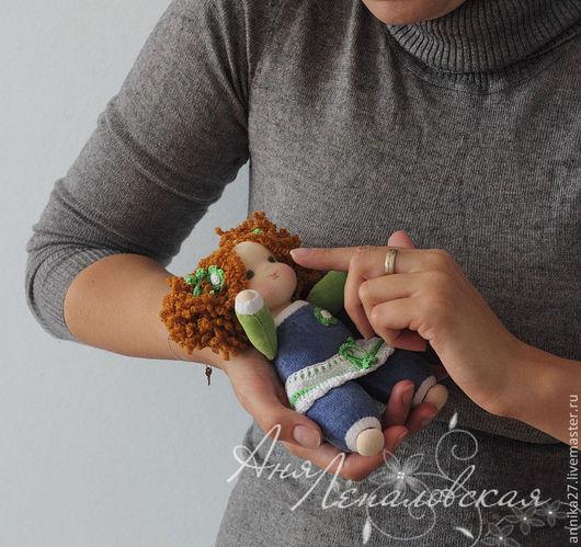 Вальдорфская игрушка ручной работы. Ярмарка Мастеров - ручная работа. Купить Мини-малышки. Handmade. Куклы для малышей, трикотаж