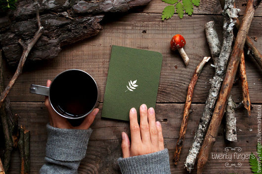 зеленая тетрадка