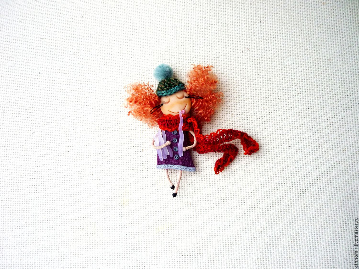 brooch girl `Icicles - it`s delicious!`