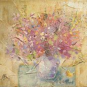 Картины и панно ручной работы. Ярмарка Мастеров - ручная работа Розовый натюрморт. Handmade.
