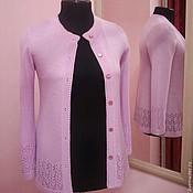 """Одежда ручной работы. Ярмарка Мастеров - ручная работа Кофта вязаная """"Розовый лепесток"""". Handmade."""