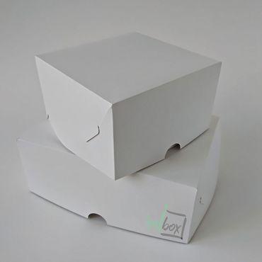 Материалы для творчества ручной работы. Ярмарка Мастеров - ручная работа Упаковка: Коробка для 4,6,9,12 капкейков без окошка белая. Handmade.