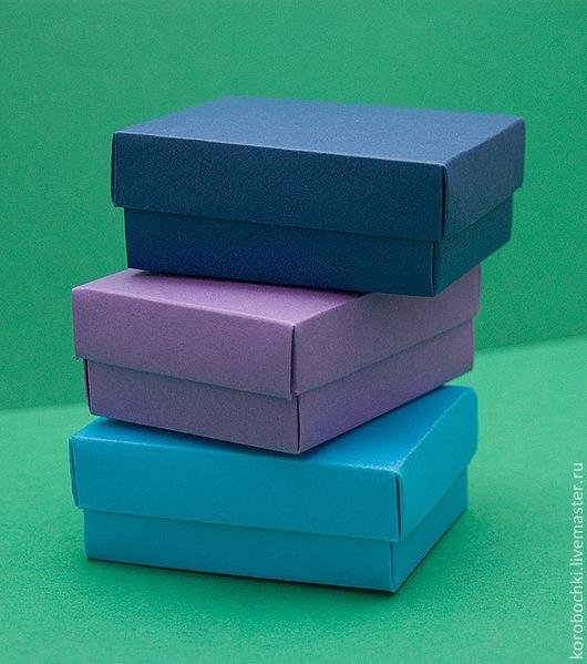 Подарочная упаковка ручной работы. Ярмарка Мастеров - ручная работа. Купить Коробочки 9х7х4 см. Handmade. Подарочная упаковка