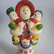 Куклы и игрушки ручной работы. Ярмарка Мастеров - ручная работа Барыня с детьми. Handmade.