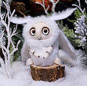 Куклы и игрушки ручной работы. Ярмарка Мастеров - ручная работа Белая Снежная Моль. Handmade.