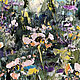 Oil painting Flower oil painting Spring lawn. Pictures. Zabaikalie. My Livemaster. Фото №5