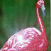 """Картины и панно ручной работы. Ярмарка Мастеров - ручная работа Картина """"Фламинго!. Handmade."""