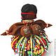 """Народные куклы ручной работы. Заказать Травница """"Мулатка-Шоколадка"""". Марина (manualcreation). Ярмарка Мастеров. Народная кукла, подарок"""
