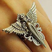 Украшения handmade. Livemaster - original item Ring with wings