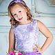 Одежда для девочек, ручной работы. Заказать Платье для девочки, стильное, пышное, длинное. 'Рюши Ксюши' (Kseniya-spb). Ярмарка Мастеров.