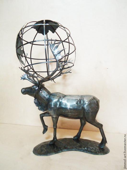 Экстерьер и дача ручной работы. Ярмарка Мастеров - ручная работа. Купить Скульптуры и сувениры из металла. Handmade. Сукльптура, металлопластика, таракан