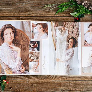 Дизайн и реклама ручной работы. Ярмарка Мастеров - ручная работа Свадебная фотокнига. Handmade.