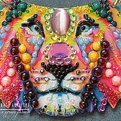 Украшения handmade. Livemaster - original item Rainbow lion. Handmade.