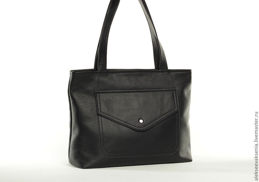Bag natures.leather art.399 black, Classic Bag, St. Petersburg,  Фото №1