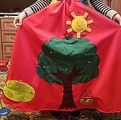 Мягкие игрушки ручной работы. Ярмарка Мастеров - ручная работа Адаптационная сенсорная юбка/коврик. Handmade.