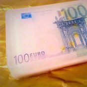 """Подарки к праздникам ручной работы. Ярмарка Мастеров - ручная работа Мыло """"100 Евро"""". Handmade."""