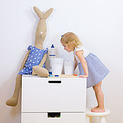 Куклы и игрушки ручной работы. Ярмарка Мастеров - ручная работа Заяц  Майлег большой. Handmade.