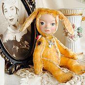 """Куклы и игрушки ручной работы. Ярмарка Мастеров - ручная работа тедди-долл """"Солнечная зайка"""". Handmade."""