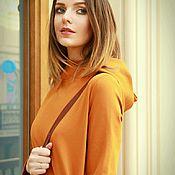 Одежда handmade. Livemaster - original item Knitted dress with original hood