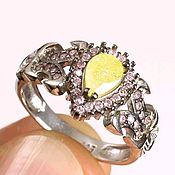Украшения handmade. Livemaster - original item Ring sunbeam silver 925. Handmade.