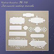 Материалы для творчества handmade. Livemaster - original item set logging no. 116