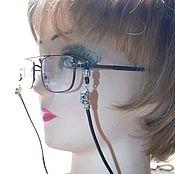 Очки ручной работы. Ярмарка Мастеров - ручная работа Шнурок для очков, оправы. Страховка.. Handmade.