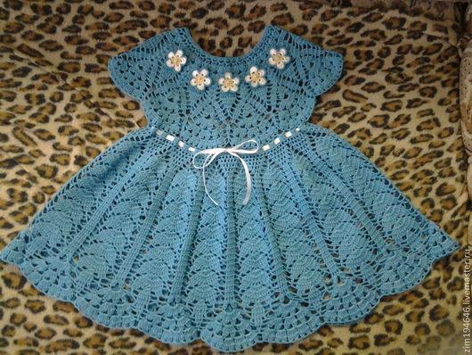 Одежда для девочек, ручной работы. Ярмарка Мастеров - ручная работа. Купить Платье для девочки 100% хлопок.Ручной работы.. Handmade.