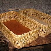 Короб ручной работы. Ярмарка Мастеров - ручная работа Плетеный короб для хранения из натуральной лозы. Handmade.