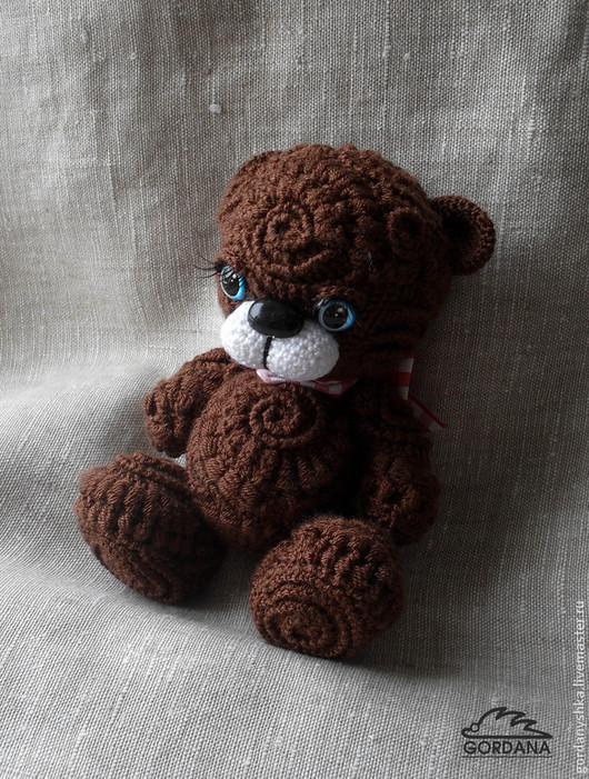 Игрушки животные, ручной работы. Ярмарка Мастеров - ручная работа. Купить медвежата в технике фриформ. Handmade. Коричневый, микрофибра
