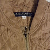 Винтаж handmade. Livemaster - original item Vintage quilted cropped jacket,vintage Denmark. Handmade.