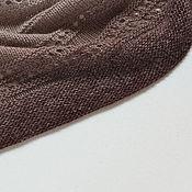 Бактус ручной работы. Ярмарка Мастеров - ручная работа Бактус вязаный из мериносовой шерсти Платок вязаный из мериноса. Handmade.