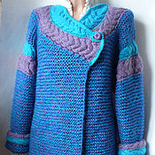 Одежда handmade. Livemaster - original item Cool oversized knitted cardigan. Handmade.