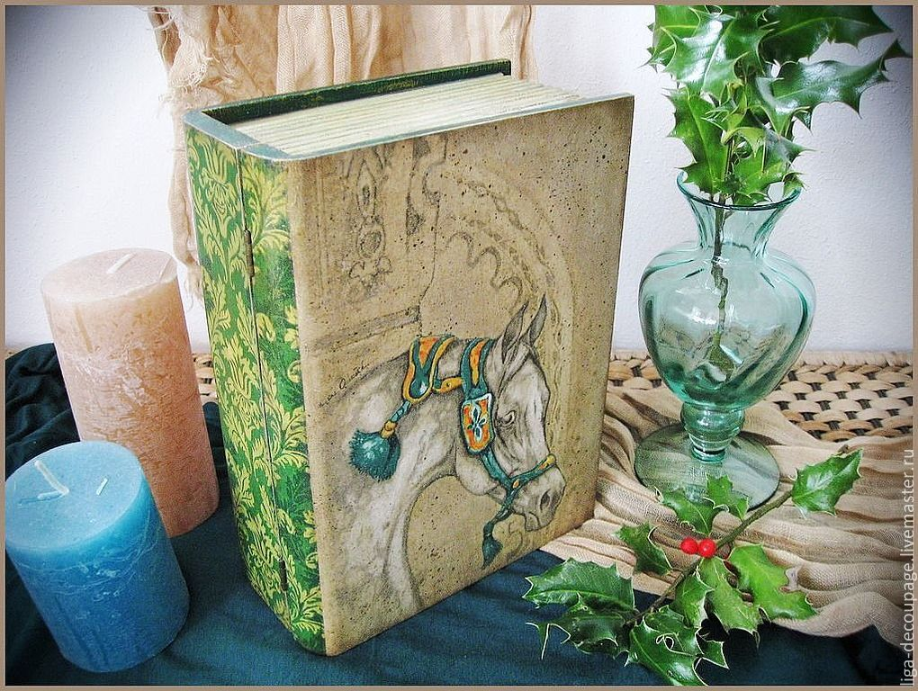 Шкатулка книга мастер класс для новичков #9