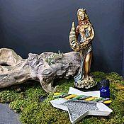 Статуэтка ручной работы. Ярмарка Мастеров - ручная работа Фортуна Богиня. Handmade.