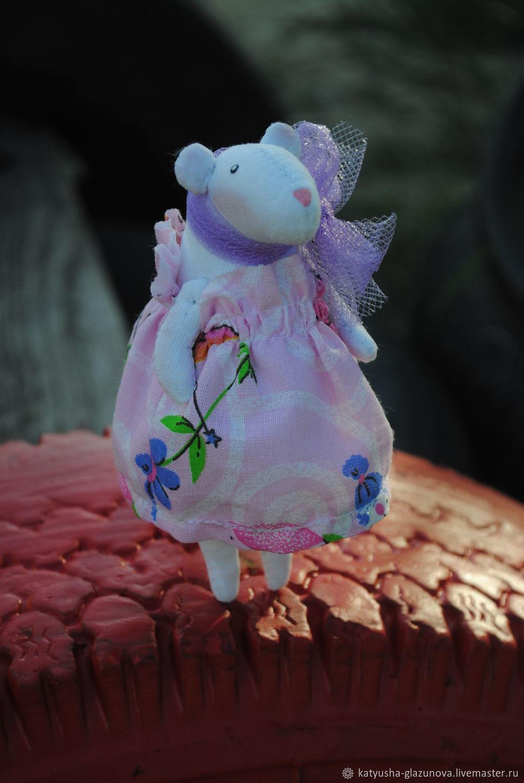 Мышка Белая, Мягкие игрушки, Тамбов,  Фото №1