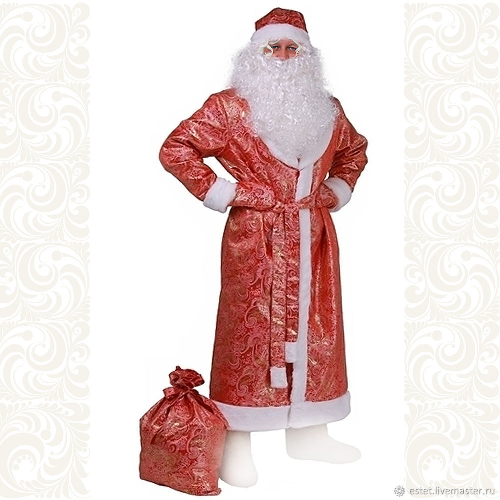 Ostume Santa Claus, Father Frost, Grandfather Frost,  4 variations, Carnival costumes, Korolev,  Фото №1
