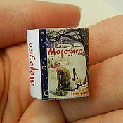 Русский стиль ручной работы. Ярмарка Мастеров - ручная работа Русские сказки в миникнигах, наборы из 5 миникниг с магнитом. Handmade.