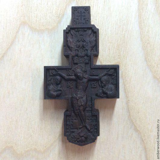 Кулоны, подвески ручной работы. Ярмарка Мастеров - ручная работа. Купить Нательный крест из дерева. Handmade. Крест, деревянный крестик