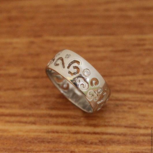 Кольца ручной работы. Ярмарка Мастеров - ручная работа. Купить Серебряное кольцо Променад, серебро 925. Handmade. Серебряный