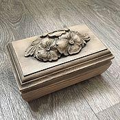 Для дома и интерьера handmade. Livemaster - original item The box of wood with carving. Handmade.