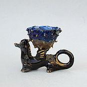 Для дома и интерьера handmade. Livemaster - original item Flower dragon. Decorative figurine.. Handmade.