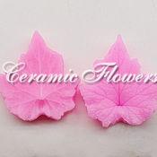 Материалы для творчества handmade. Livemaster - original item Silicone mold (Weiner) leaf anemone bilateral. Handmade.