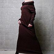 Одежда ручной работы. Ярмарка Мастеров - ручная работа Платье-кокон UNICA. Handmade.