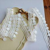 Материалы для творчества handmade. Livemaster - original item Fringe braid, lace. Ophelia. Handmade.